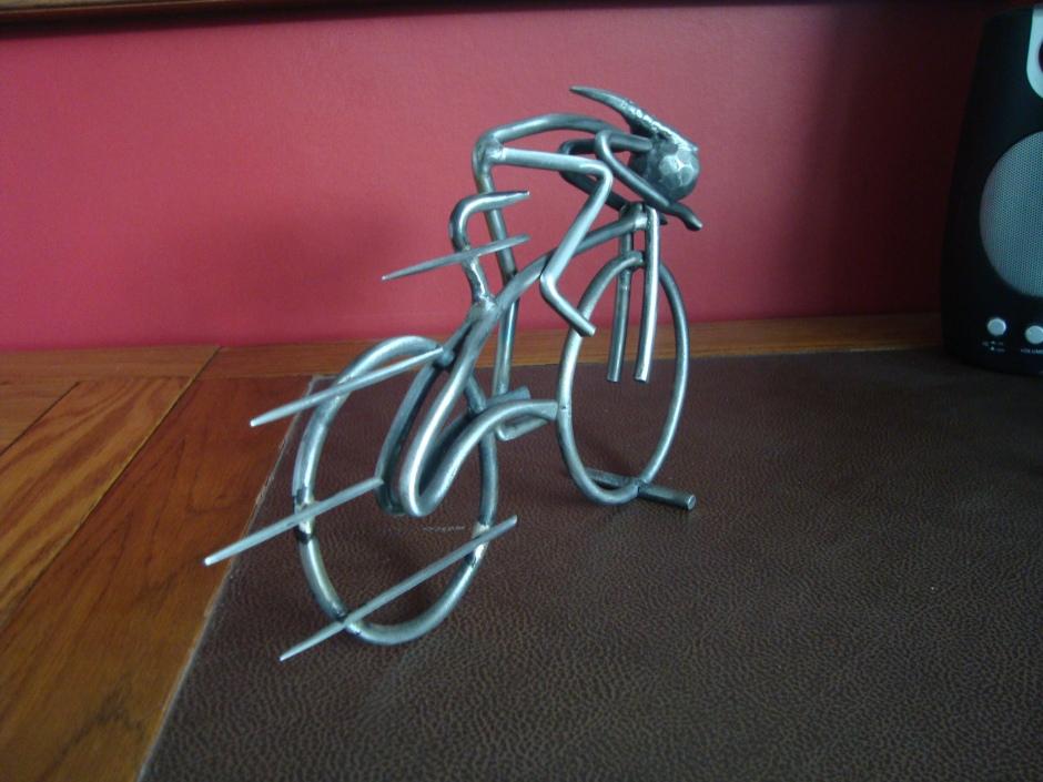 Marquette Cyclist, Harrogate