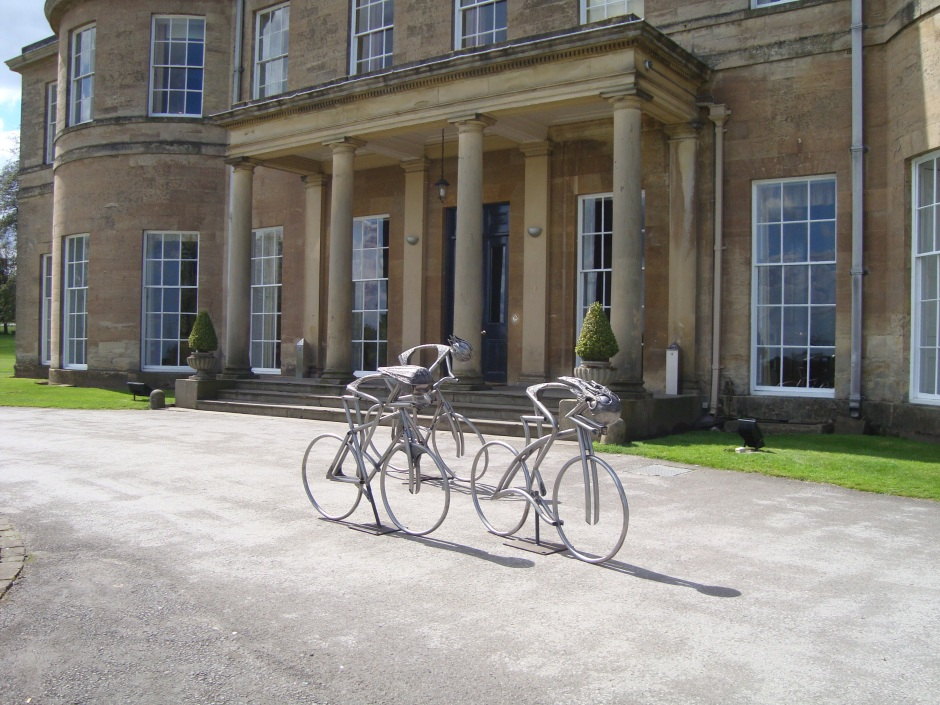 Bike visit Rudding Park
